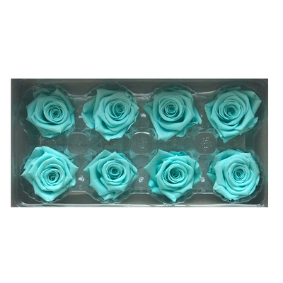 4-5 cm rose petal-tiffany bllue