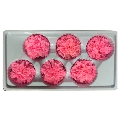 4-5 cm carnation head-pink