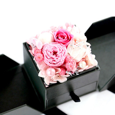 Preserved Flower Gift-Pink Series
