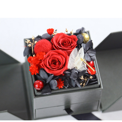 Preserved Flower Gift - Red Series