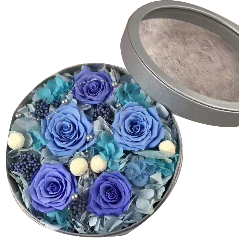 Preserved Flower Gift Box -Purple Series